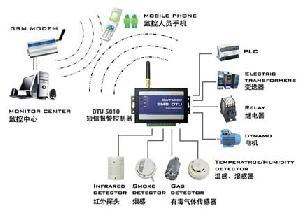 gsm sms rmotely scada rtu dtu system controller 5010