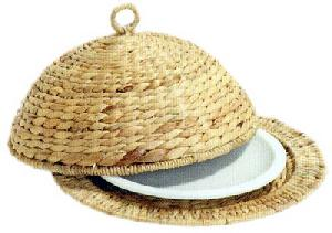 ara 0143 woven rattan accesories plate cook cover water hyacinth furniture