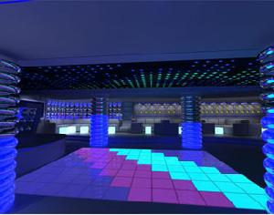 club staging dance arena building led floor dancing mosaic