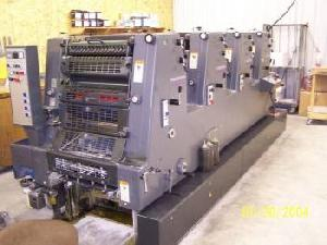 1999 heidelberg printmaster gto 52 4 ref mus 1999pm
