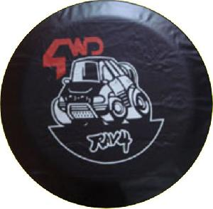 promotional spare car tire cover