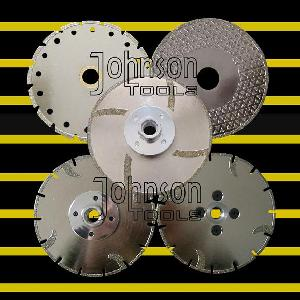 od125mm electroplated blade diamond tool