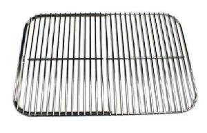 portable kitchen replacement hinged cooking grid charcoal grate