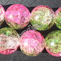 wholesale crackle glass beads