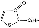 2 n octyl 4 isothiazolin 3