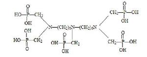 bis hexamethylene triaminopenta methylene phosphonic acid