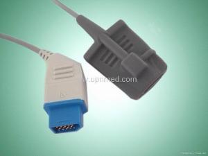 nihon kohden adult silicone soft tip spo2 sensor