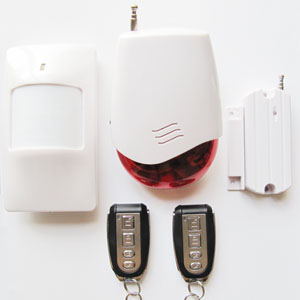 gsm smart house security alarm system