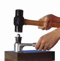 hammer impact brinell hardness tester