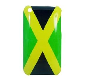 jamaica flag hard iphone case