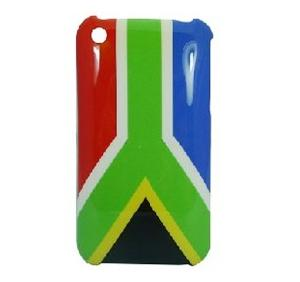 south africa flag hard case iphone