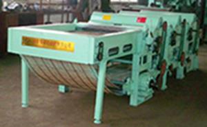 feeding cotton fluffing machine