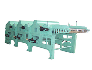roller cotton fluffing machine