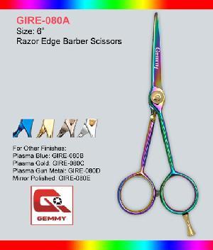 razor edge barber scissor