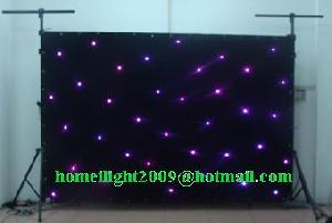 led stage light star curtain
