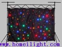 led star curtain cloth