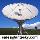 antesky introduces 4 5m earth station antenna performance