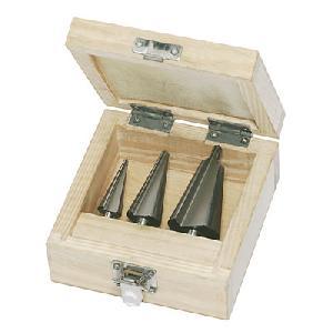 sheet metal drill bits wooden box