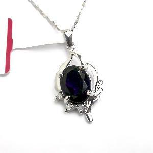sterling silver amethyst pendant citrine earring bracelet gemstone jewelry