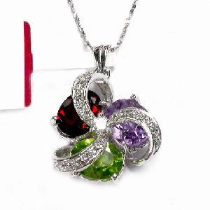 sterling silver gemstone pendant moonstone earring bracelet ring
