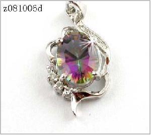 sterling silver rainbow pendant agate moonstone earring olivine bracelet ring