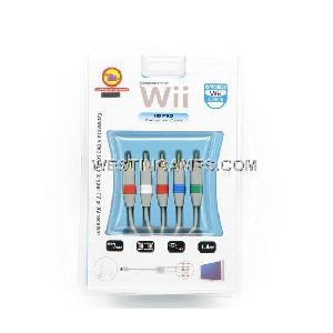nintendo wii hd pro component cable