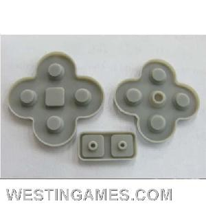 replacement buttons conductive pads nds lite