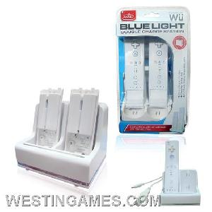 wii blue light charge station motion plus