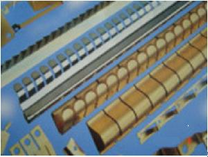 beryllium copper finger strip
