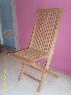 teak jepara bali folding chair teka outdoor indoor garden furniture