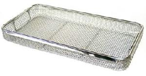 stainless steel trays din basket