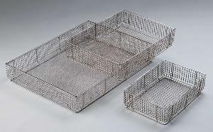 sterilizing baskets wire