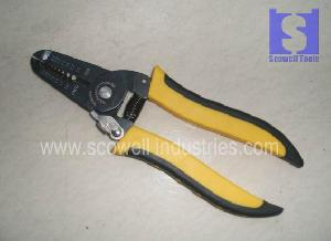 wire stripping plier cable stripper