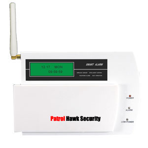 patrol hawk security gsm wireless home system