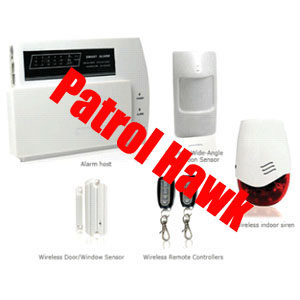 patrol hawk security wireless auto dialer home alarm systems