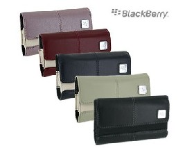 blackberry leather folio horizontal case