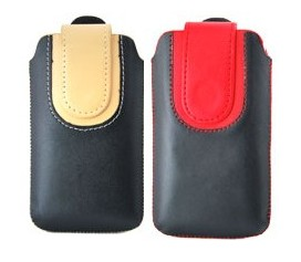 magnetic flip clip leather case cover pouch apple iphone 3gs 3g