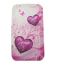 silicon iphone flower pattern case