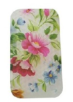 silicon iphone flower pattern case copy