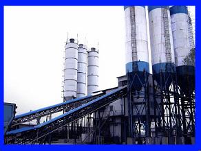 concrete batching plant hzs180