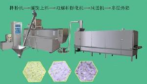 instant rice processing line