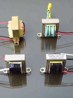 miniature voltage transformers \ laminated chassis mounting