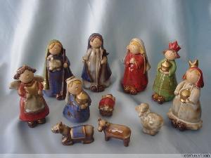 ceramic praying angel figurines nativity christmas giftwares decoration souvenirs nove