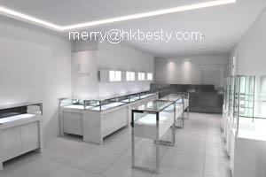 designer floor showcase jewelry