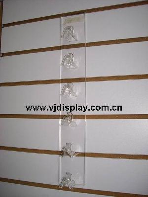 acrylic slatwall eyewear display stand