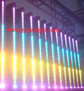 led bar 36x3w tri colored rgb rolling