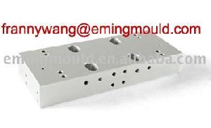 7075 piezas en aleación de aluminio