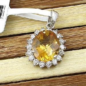 sterling silver citrine pendant ruby beacelet olivine ring earring