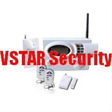 wireless burglar alarms kits vstar security
