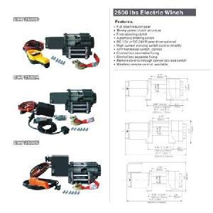 atv 4x4 electric winch power